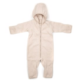 Dragt Cotton fleece Camel - Huttelihut