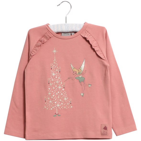 Disney Bluse X-mas Tinker soft rouge - Wheat