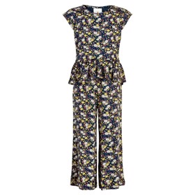 Orchid jumpsuit black iris- The New
