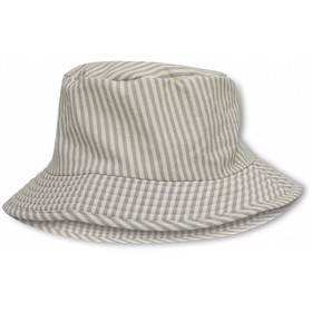ASTER BUCKET HAT LIGHT BLUE STRIPE - Konges Sløjd