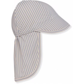 ASTER SUNHAT LIGHT BLUE STRIPE - Konges Sløjd