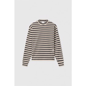 Astrid long sleeve Off white stripes - Wood Wood