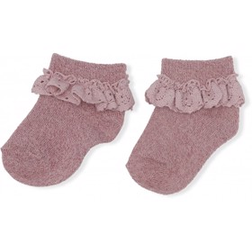 Lace socks Gold Blush - Konges Sløjd