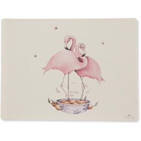 Placemat silicone flamingo - Konges Sløjd