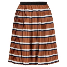 Rachel pleat skirt Mocha Bisque - The New