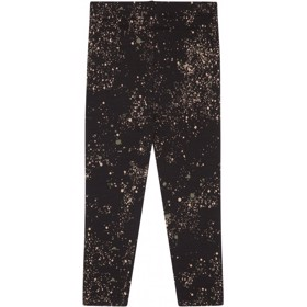 Paula Leggings Mini Splash Jet Black - Soft Gallery