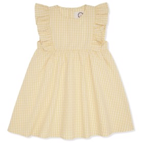 Emily Dress Yellow check - Konges Sløjd