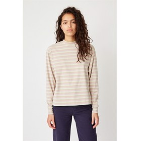 Astrid long sleeve Green stripes - Wood Wood