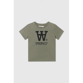 Ola kids T-shirt Double A Army green - Wood Wood