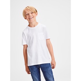 O-neck t-shirt white - Jack & Jones junior