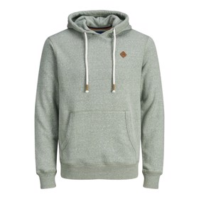 Jortons Sweat Hoodie, Sea Spray Melange - Jack & Jones Junior
