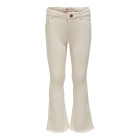 Cropped flared jeans beige - Kids Only