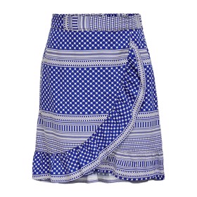 Nederdel Konella wrap Mazarine Blue - Kids Only