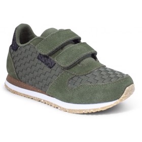 Sneaker Ydun Weaved II Kids Pine Tree Green - Woden Wonder