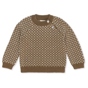 Meomi Sweater Olive - Konges Sløjd