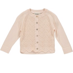 Cardigan Totti Modal Cotton Mix Peach Cream - MarMar