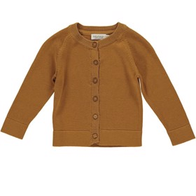 Cardigan Totti Modal Cotton Mix Pumpkin Pie - MarMar