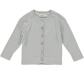 Cardigan Totti Modal Cotton Mix Grey Sky - MarMar