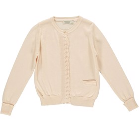 Cardigan Tilianna Modal Cotton Mix Peach Cream - MarMar