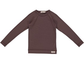 Base Tee LS  Base Layer Chocolate - MarMar