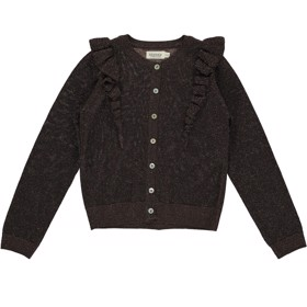 Cardigan Tille Lurex Chocolate - MarMar