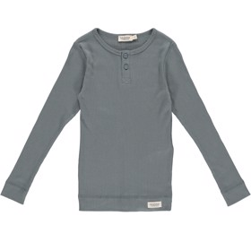 Bluse Modal m. knapper Dusty Green - MarMar
