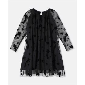 Flock Stars Tulle dress sort - Stella McCartney