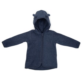 Baby Jacket fleece Navy - Huttelihut