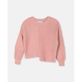 Asymmetrical sweater pink - Stella McCartney
