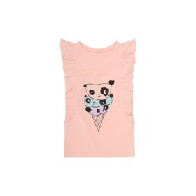 Aylin T-shirt Chintz Rose Sprinkle bear - Soft Gallery