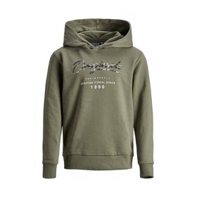 Hoodie Dusty Olive - Jack & Jones jr