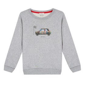 Sweatshirt marl grey - Paul Smith Junior