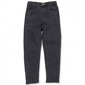 KONSAGA Mom Jeans, Black Demin - Kids Only
