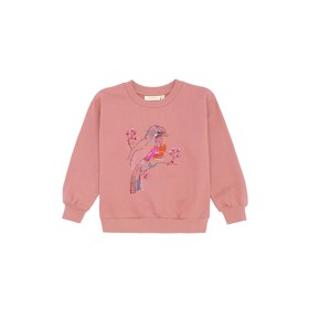 Elesse Sweatshirt Rose Dawn Birdy Emb - Soft Gallery