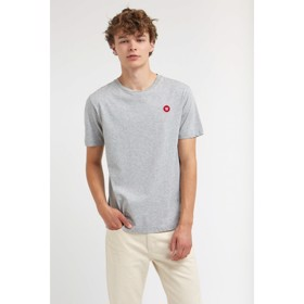 Ace T-shirt grey melange - Wood Wood