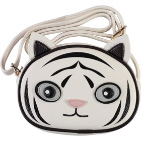 Børnetaske Tiger Bag White Star - Molo