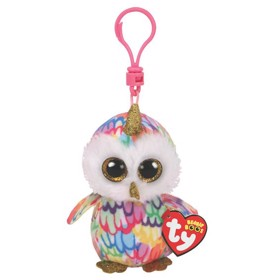 Nøglering Beanie Boos ENCHANTED owl with horn clip - TY