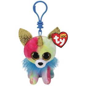 Nøglering Beanie Boos YIPS chihuahua with horn clip - TY