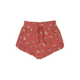 Cera Shorts Burnt Brick Camomile - Soft Gallery