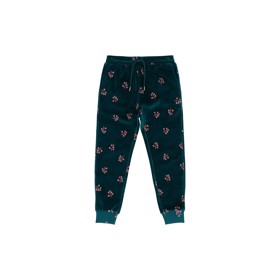Charline Pants, Deep Teal Winterberry - Soft Gallery