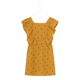 Agatha Dress Golden Yellow - A MONDAY
