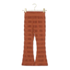 Lucia Pants flared Rust - A MONDAY
