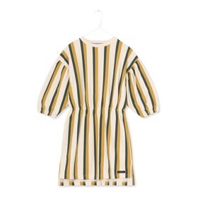 Nanna Dress Butter Cream Stripe - A MONDAY