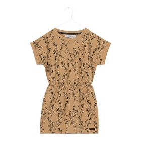 Nina Dress Doe Print - A MONDAY
