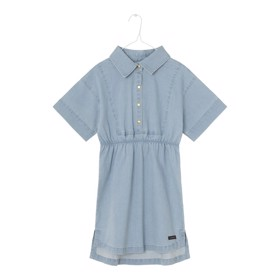 Simona Shirtdress Pearl Blue - A MONDAY