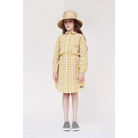 Angelina Shirtdress Arrowwood Check - A MONDAY