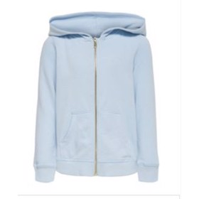 Zip Hoodie Cashmere Blue - Kids Only