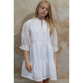 Molise Ruffle Dress hvid - Designers Remix Girls