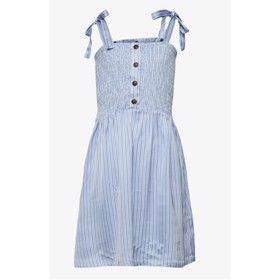 Emme Strap Dress Blue/cream stripes -  Designers Remix Girls