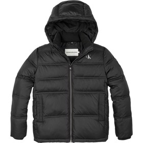 Recycled polyester puffer jacket sort - Calvin Klein